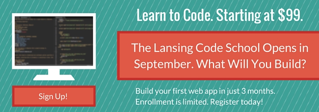 learn computer programming at the lansing code academy